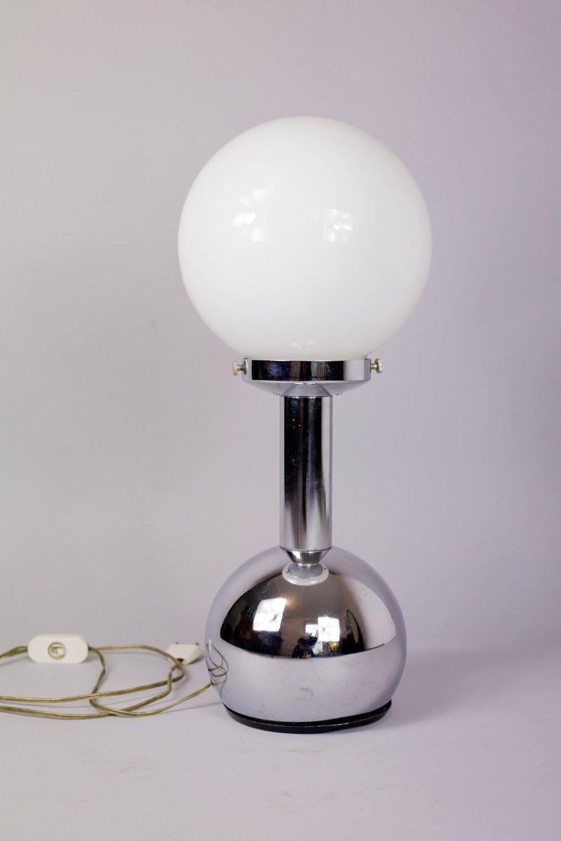 Edelstahl Tischlampe von Goffredo Reggiani, 1970er