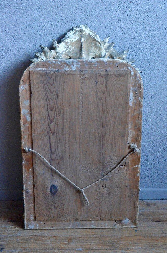 antiker franz sischer spiegel mit goldrahmen bei pamono kaufen. Black Bedroom Furniture Sets. Home Design Ideas