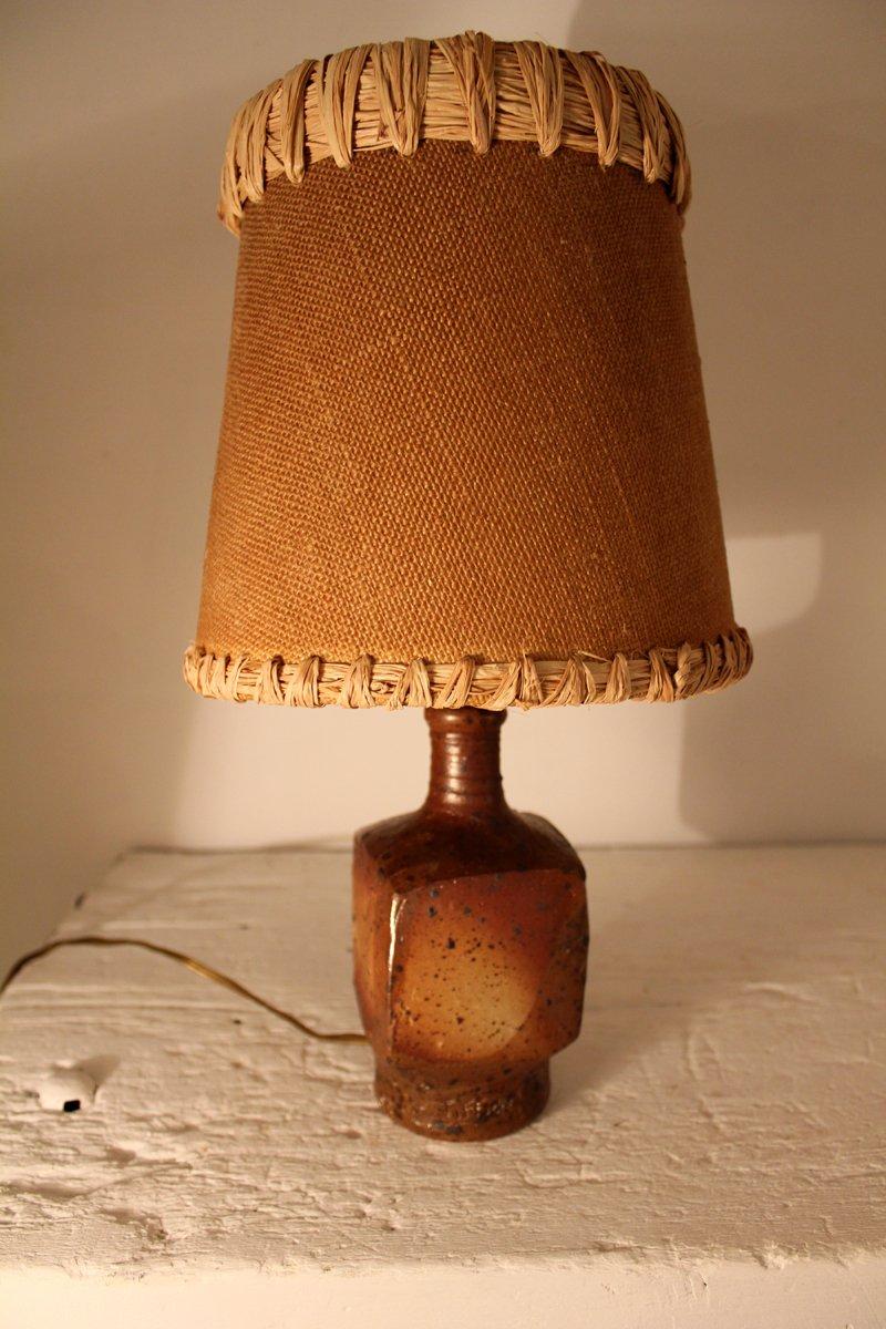 Mid-Century La Borne Tischlampe von Gustave Tiffoche