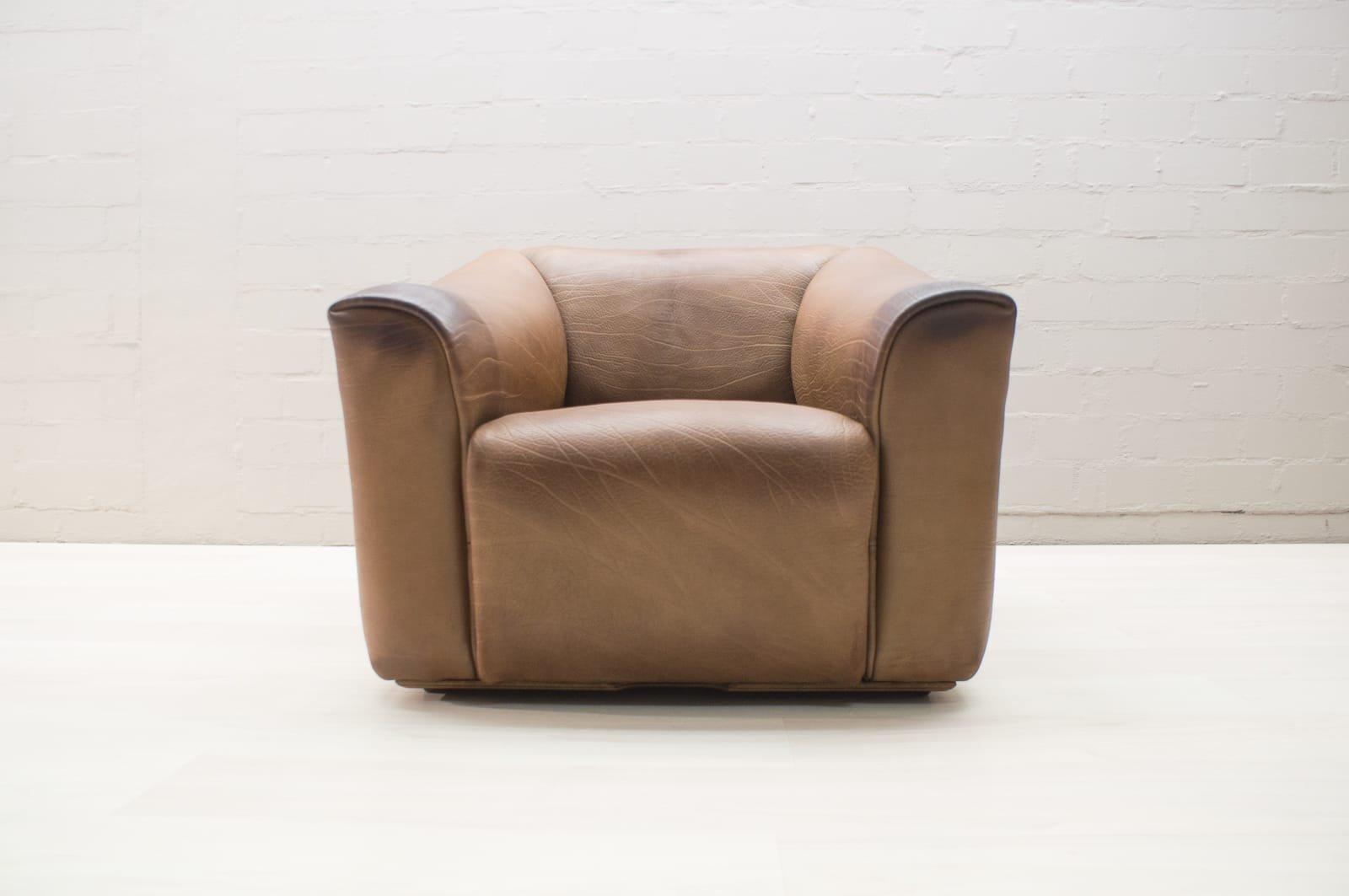 DS-47 Leder Sessel von de Sede, 1960er