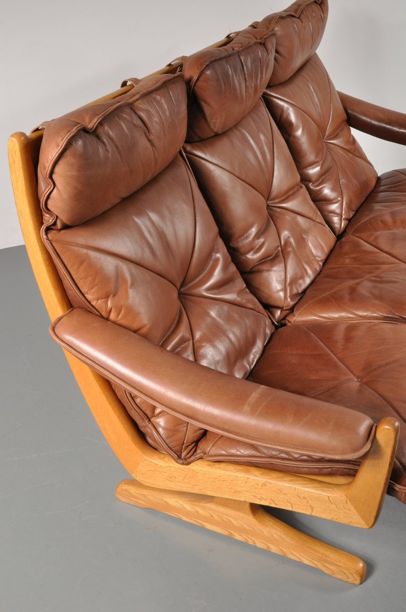 Scandinavian Three Seater Sofa From Lied 1970s For Sale