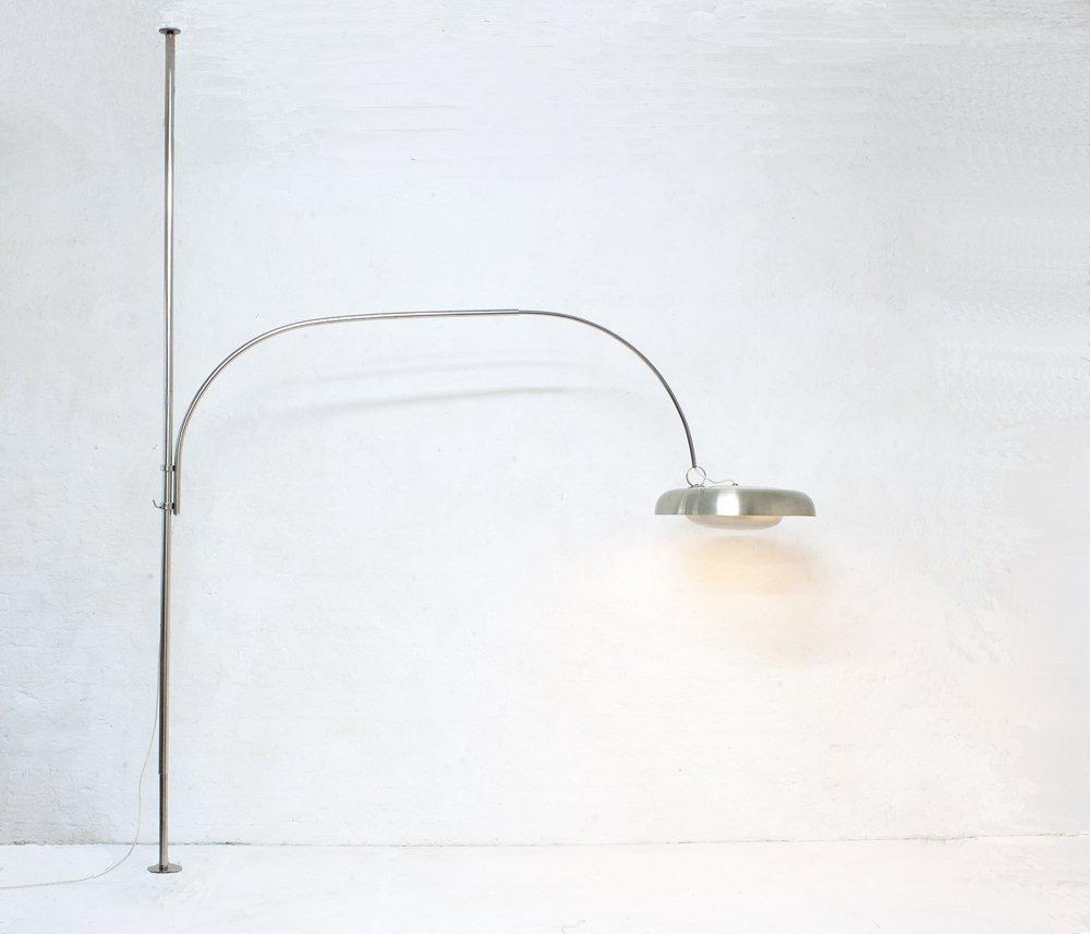 Einspannbogenlampe von Pirro Cuniberti für Sirrah, 1970er