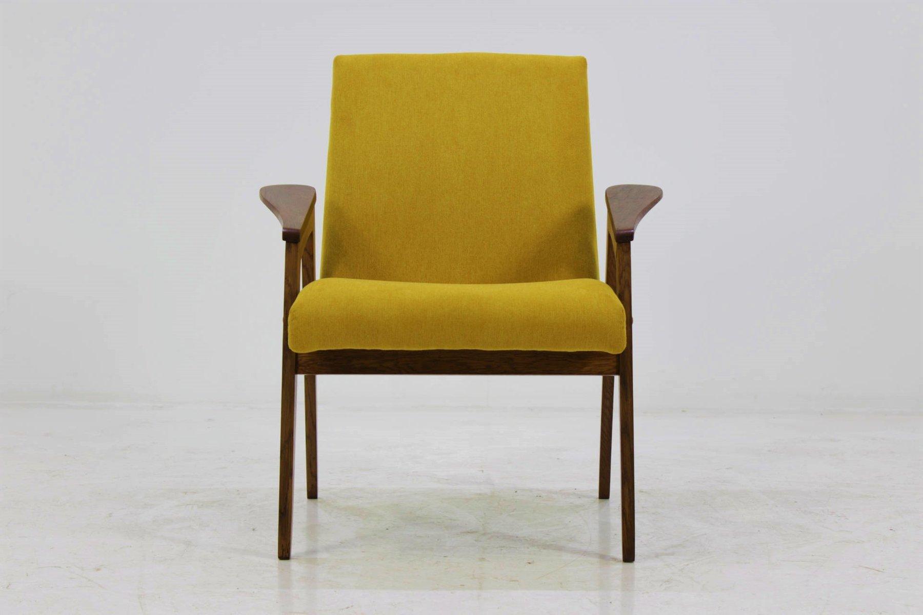 Mid Century Sessel In Gelb 1960er Bei Pamono Kaufen