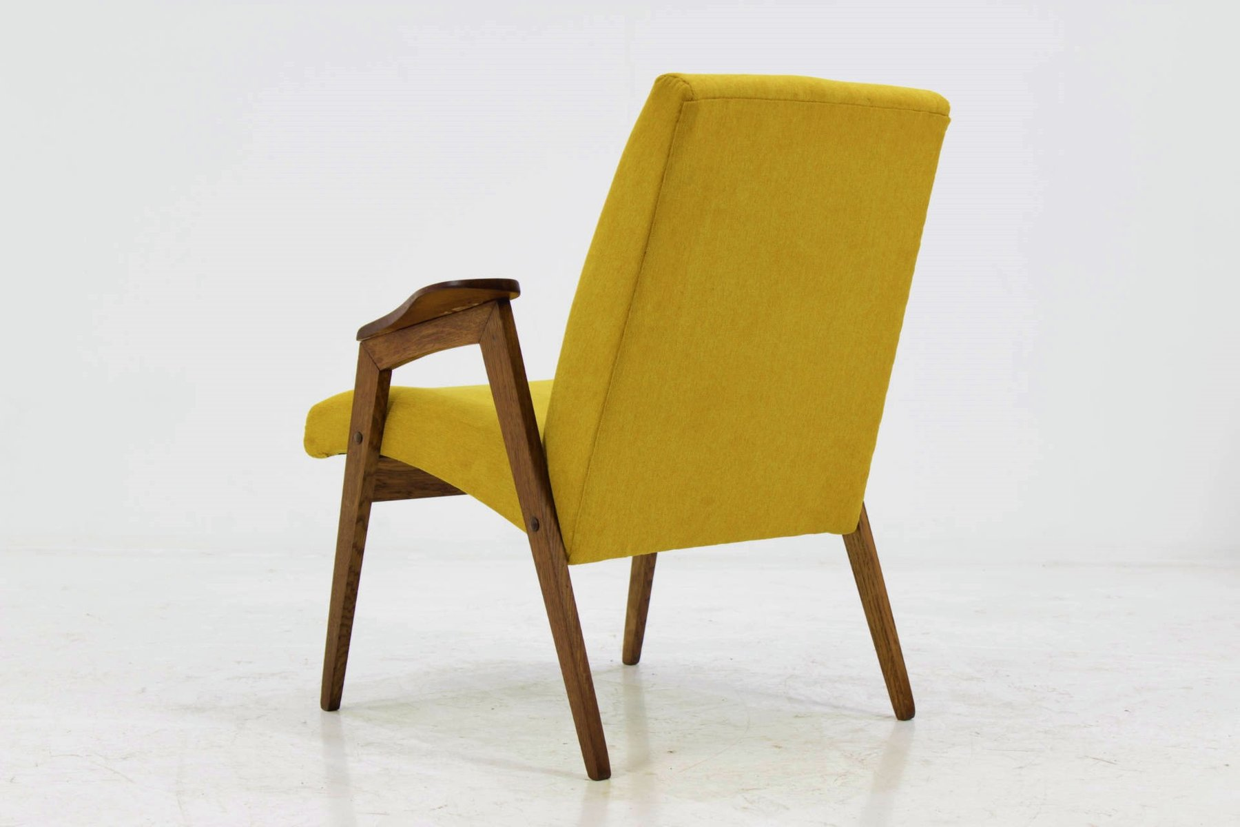 Mid Century Yellow Armchair 1960s For Sale At Pamono
