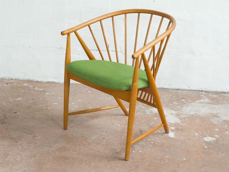 Vintage Sun Feather Sessel von Sonna Rosén für Nässjö Stolfabrik