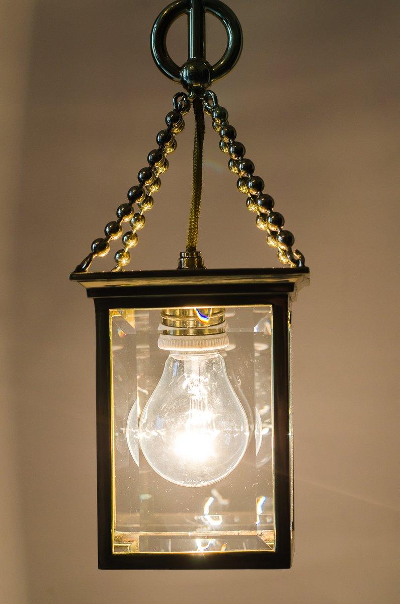 Lantern ceiling lamp 1900s 10 £950 00