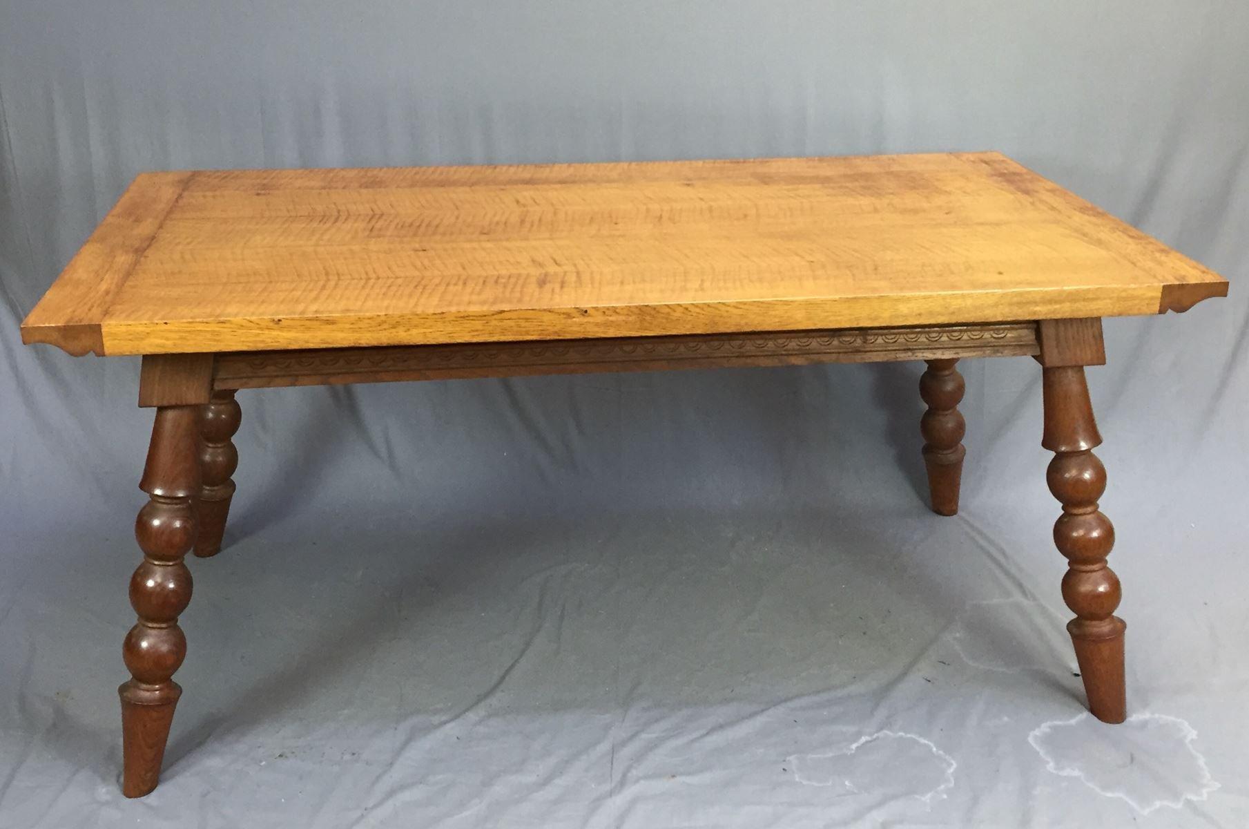 Tisch aus Eiche, 1960er