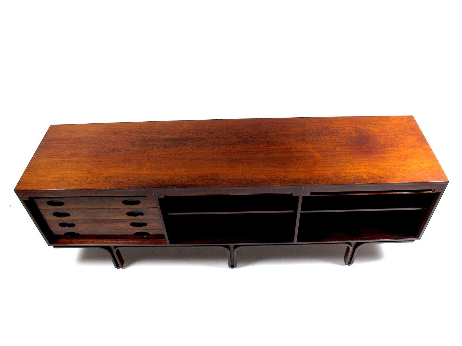 enfilade vintage en palissandre de rio par gianfranco frattini pour bernini en vente sur pamono. Black Bedroom Furniture Sets. Home Design Ideas
