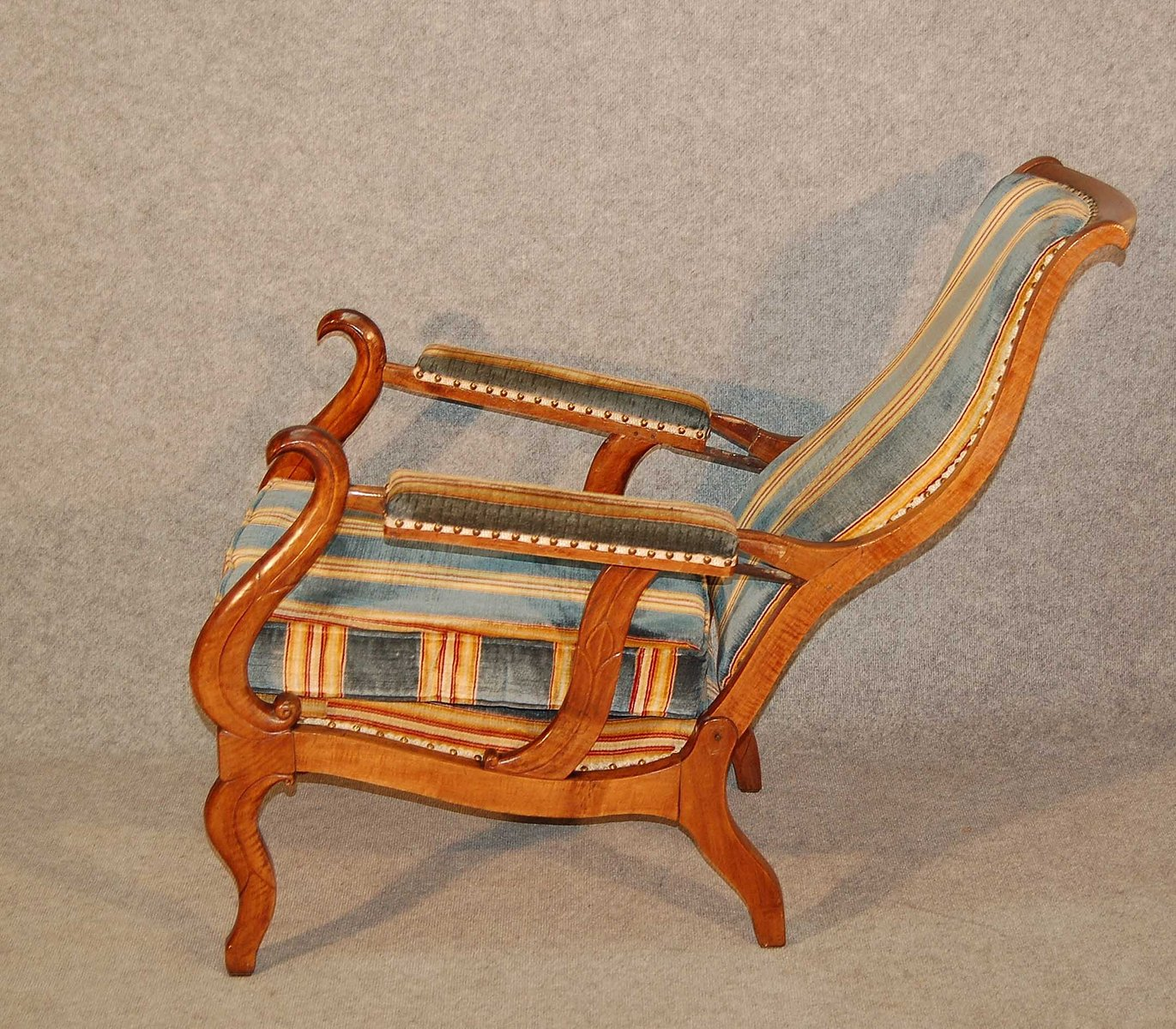 antique reclining chair antique reclining chair for at pamono 1296