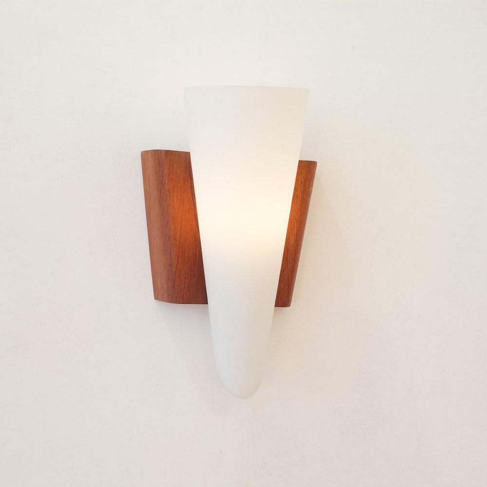 Dänische Wandlampe von Svend Aage Holm Sørensen, 1950er