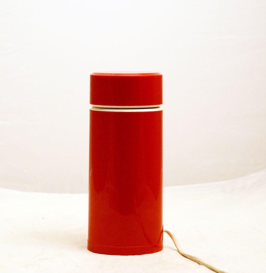 Vintage Ellisse Plastic Halogen Table Lamp By Mario Bertorelle For JM RDM