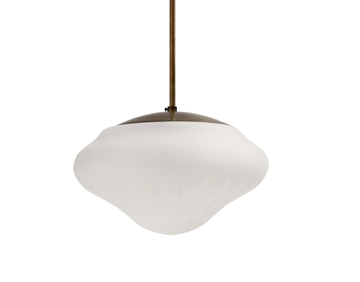 Schwedische Deckenlampe, 1950er