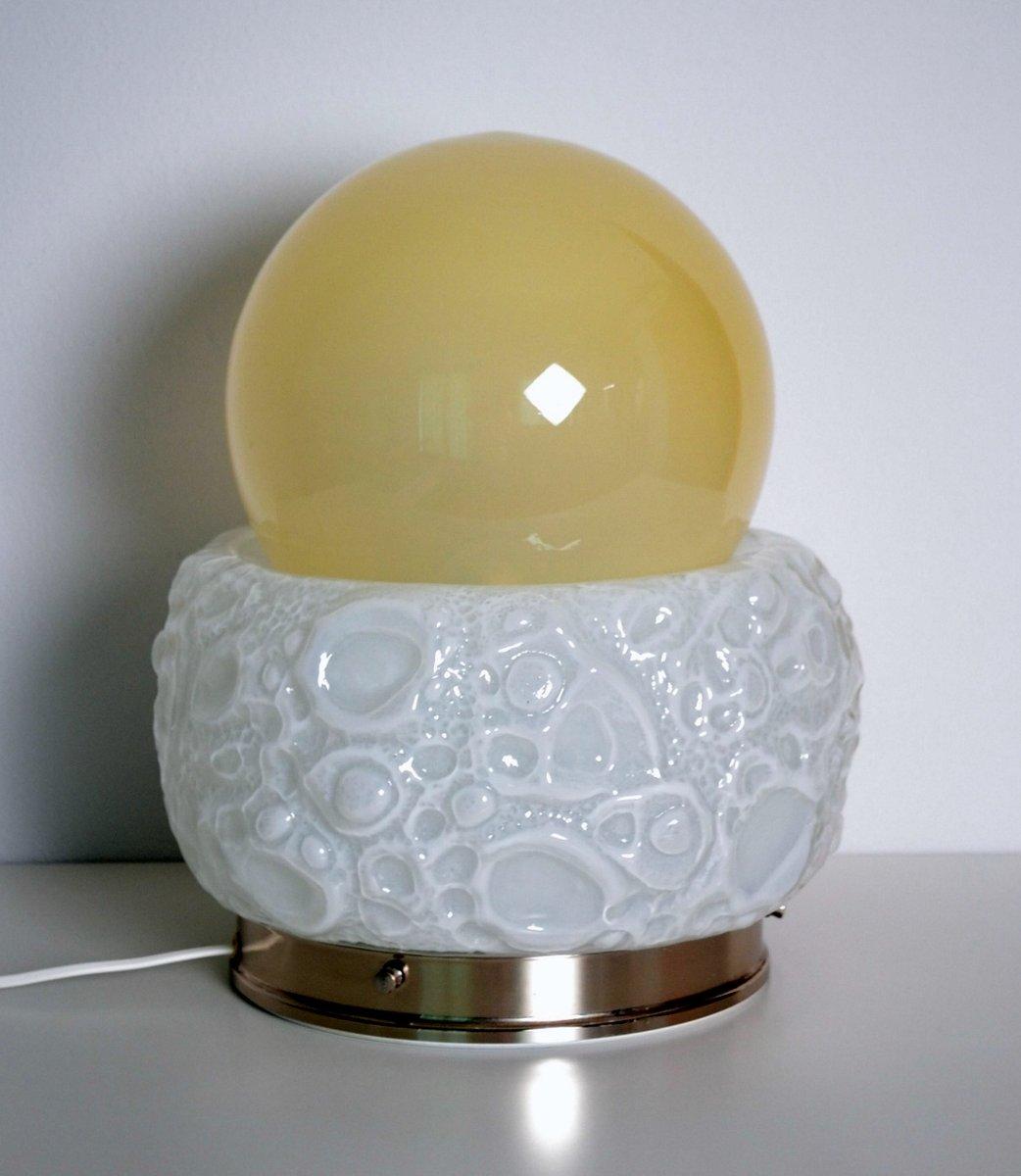 Modell Osso Murano Glas Tischlampe von Mazzega, 1970er