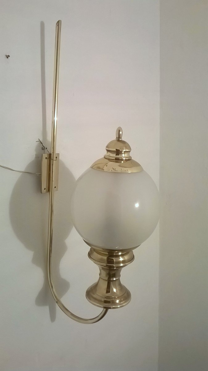 Wandlampe von Luigi Caccia Dominioni für Azucena, 1950er