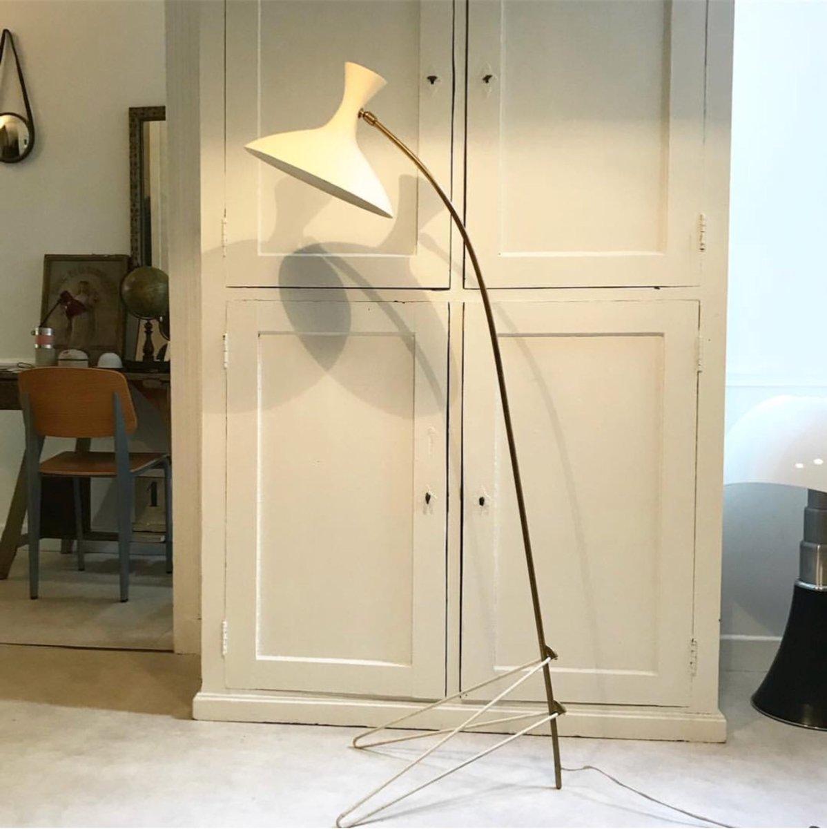 Vintage Stehlampe von Louis Kalff für Philips, 1950er