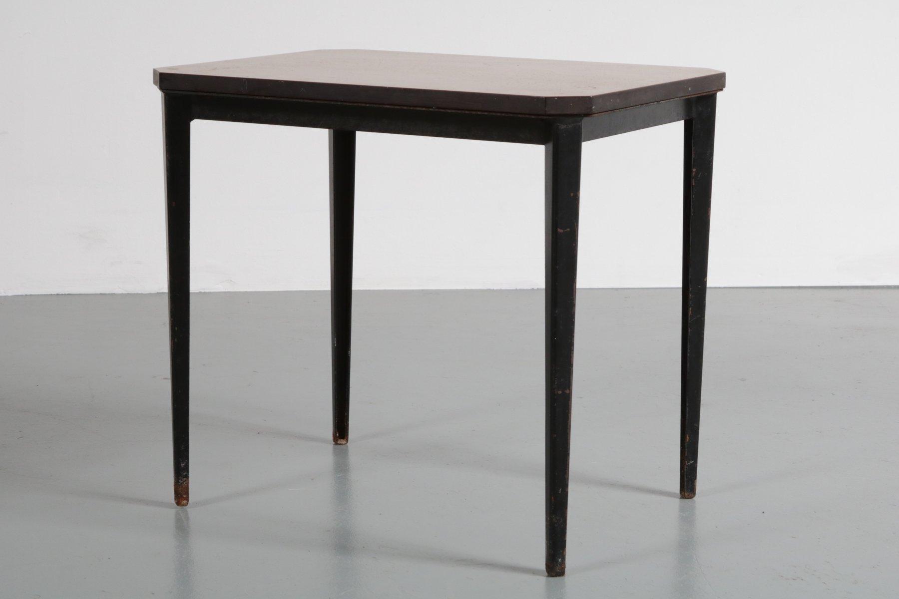 beistelltisch von wim rietveld f r ahrend de cirkel 1960er bei pamono kaufen. Black Bedroom Furniture Sets. Home Design Ideas