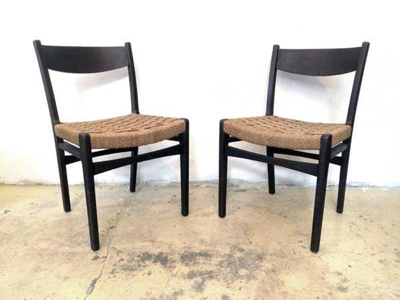 skandinavische vintage st hle 2er set bei pamono kaufen. Black Bedroom Furniture Sets. Home Design Ideas