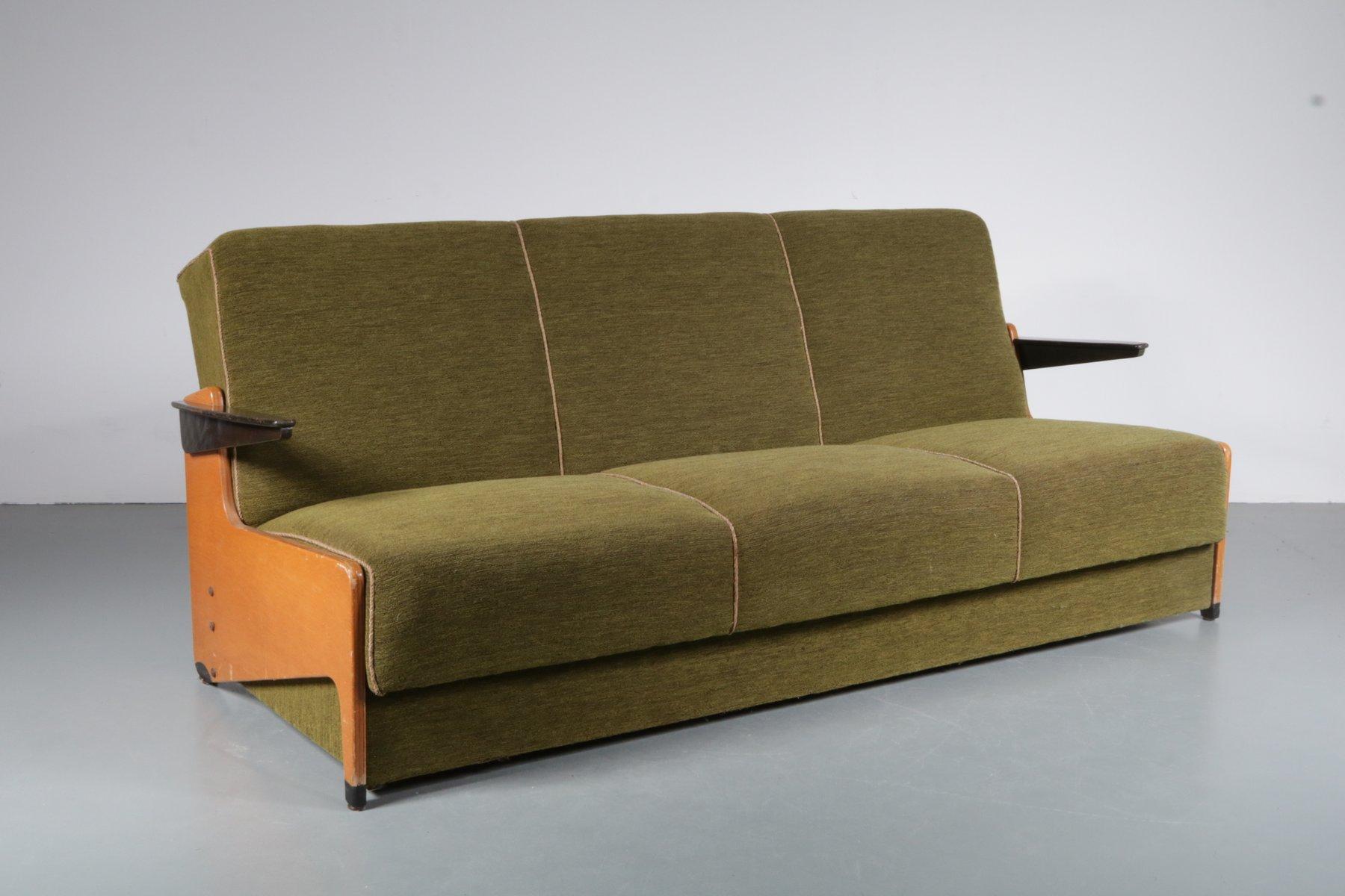 3-Sitzer Schlafsofa, 1950er