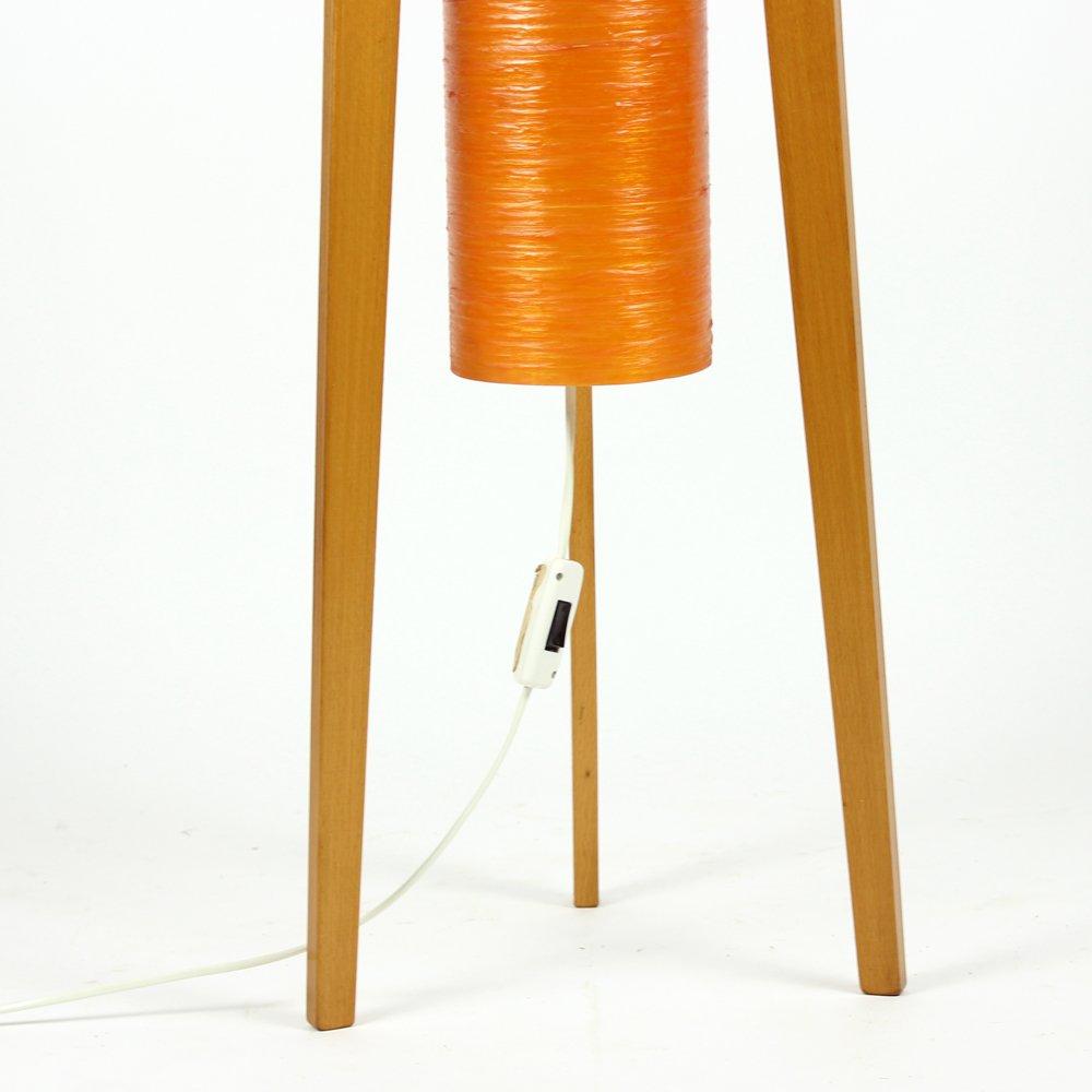 free standing rocket lamp from novoplast 1960s for sale. Black Bedroom Furniture Sets. Home Design Ideas