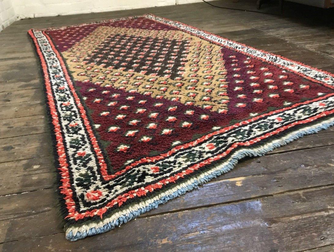 vintage moroccan berber beni ouarain shag wool rug for sale at pamono