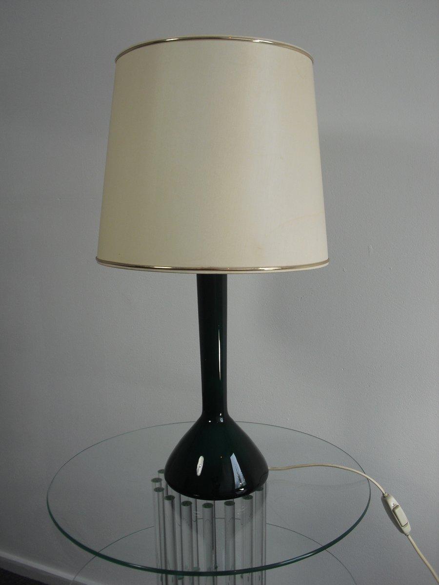 d nische mid century tischlampe aus glas von kastrup holmegaard 1960er bei pamono kaufen. Black Bedroom Furniture Sets. Home Design Ideas