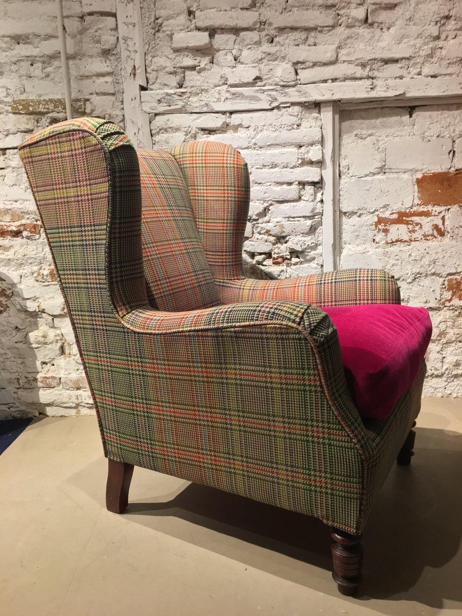 fauteuil bergre vintage 1960s - Fauteuil Bergere