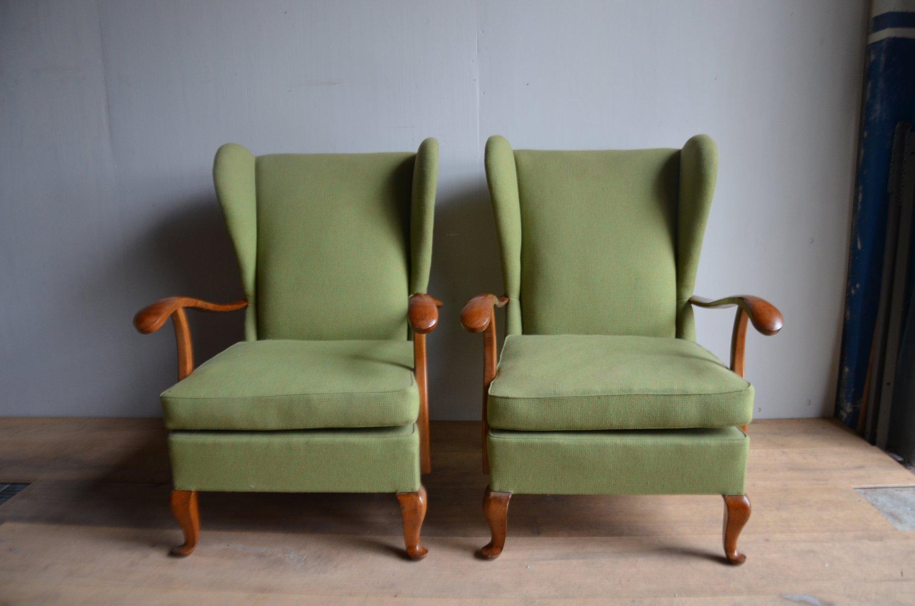 italienische mid century sessel von paolo buffa 1964 2er set bei pamono kaufen. Black Bedroom Furniture Sets. Home Design Ideas