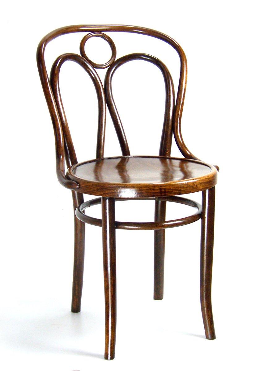 Stuhl von michael thonet f r j j kohn 1900er bei for Thonet stuhl design analyse