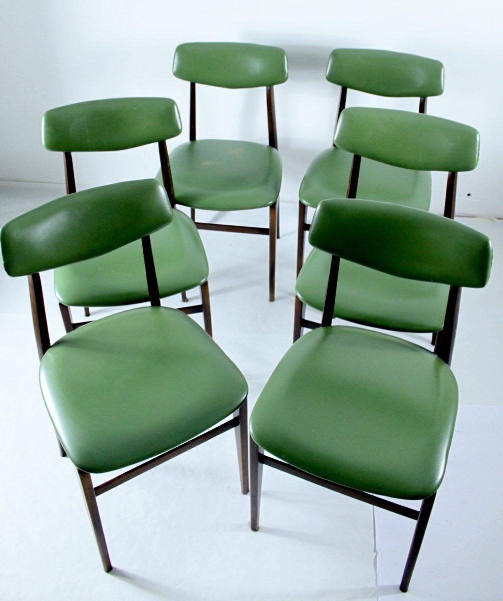 esszimmer st hle 1950er 6er set bei pamono kaufen. Black Bedroom Furniture Sets. Home Design Ideas