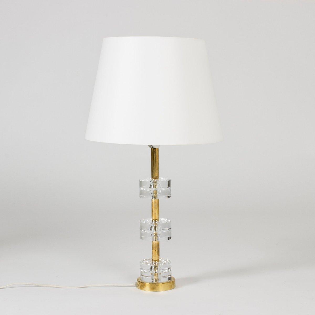 Tischlampe von Carl Fagerlund für Orrefors, 1960er