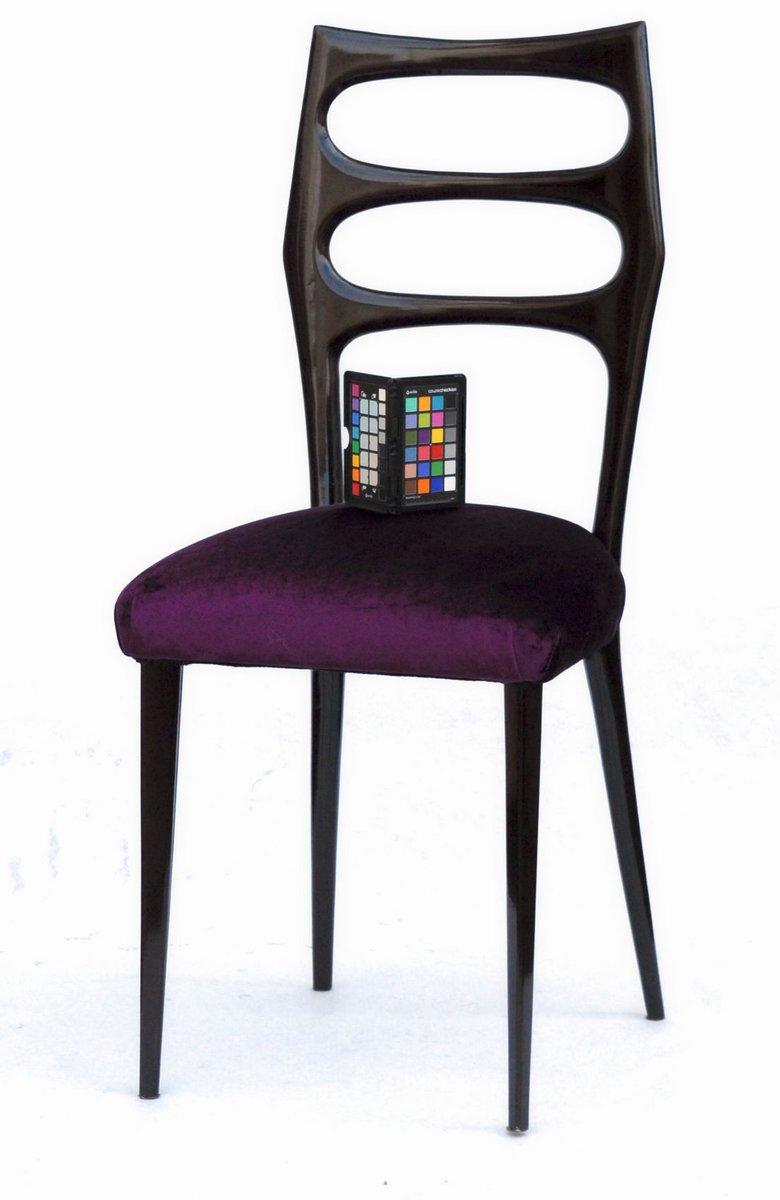 esszimmerst hle 1950er 6er set bei pamono kaufen. Black Bedroom Furniture Sets. Home Design Ideas
