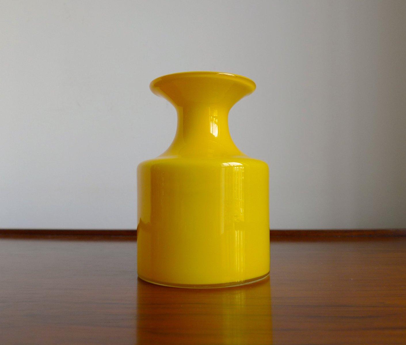 glas vase aus der carnaby reihe von per l tken f r holmegaard 1960er bei pamono kaufen. Black Bedroom Furniture Sets. Home Design Ideas