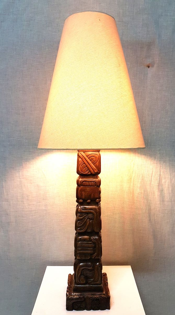 Tischlampe von Temde Leuchten, 1960er