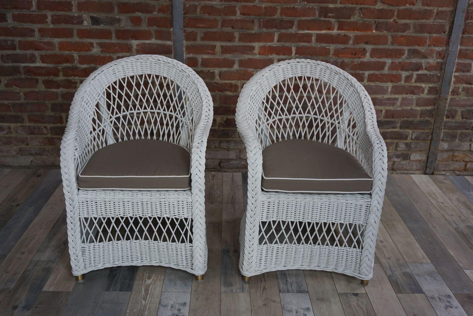 Vintage Lloyd Loom Sessel bei Pamono kaufen