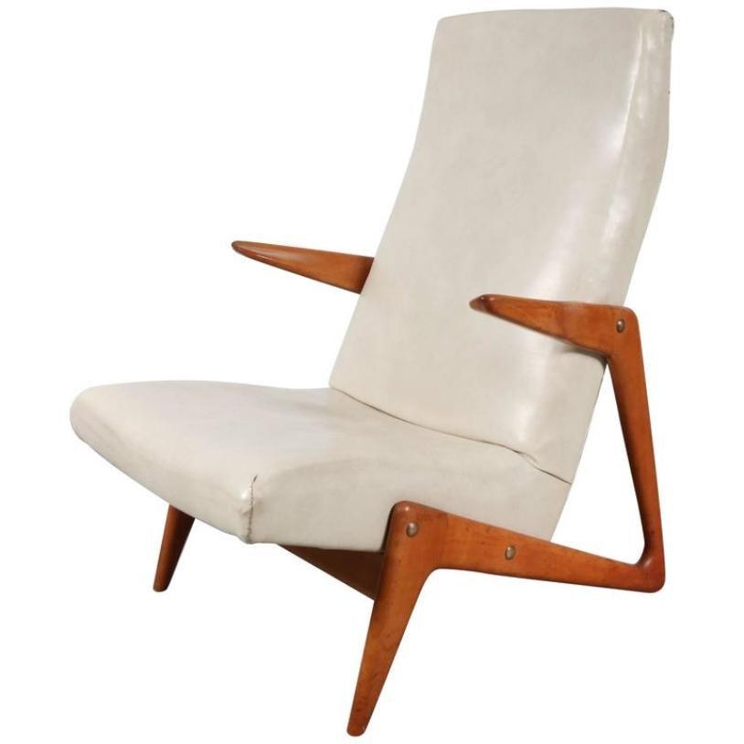 Belgischer Sessel von Belform, 1950er
