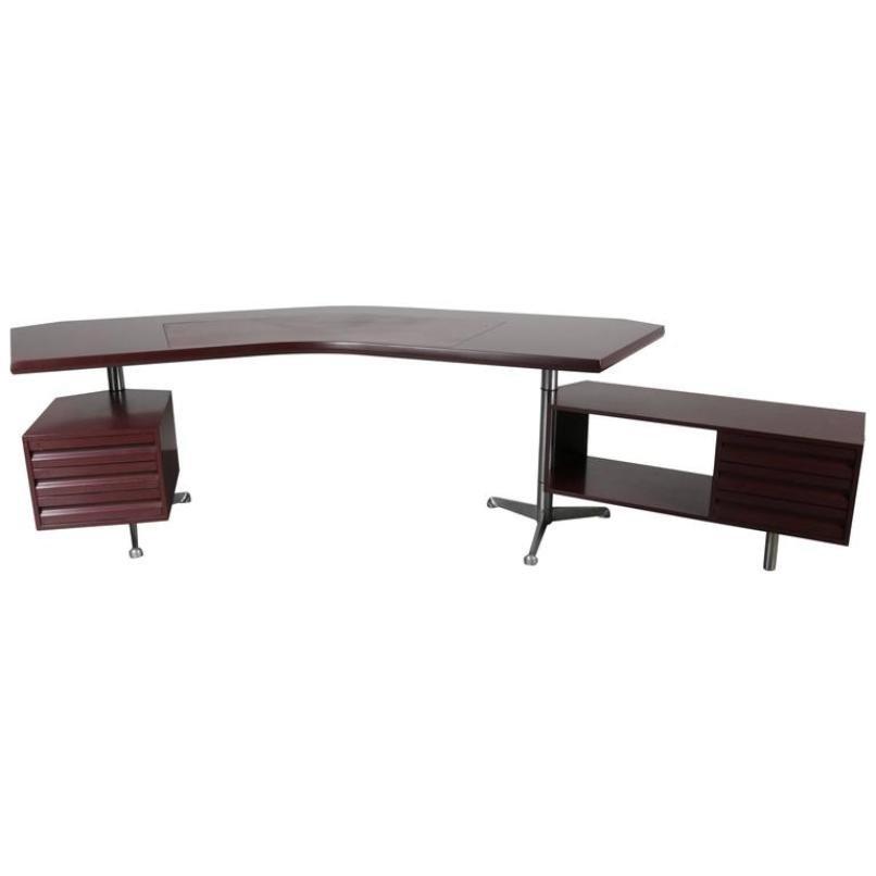 Italienischer Chef Schreibtisch von Osvaldo Bor...