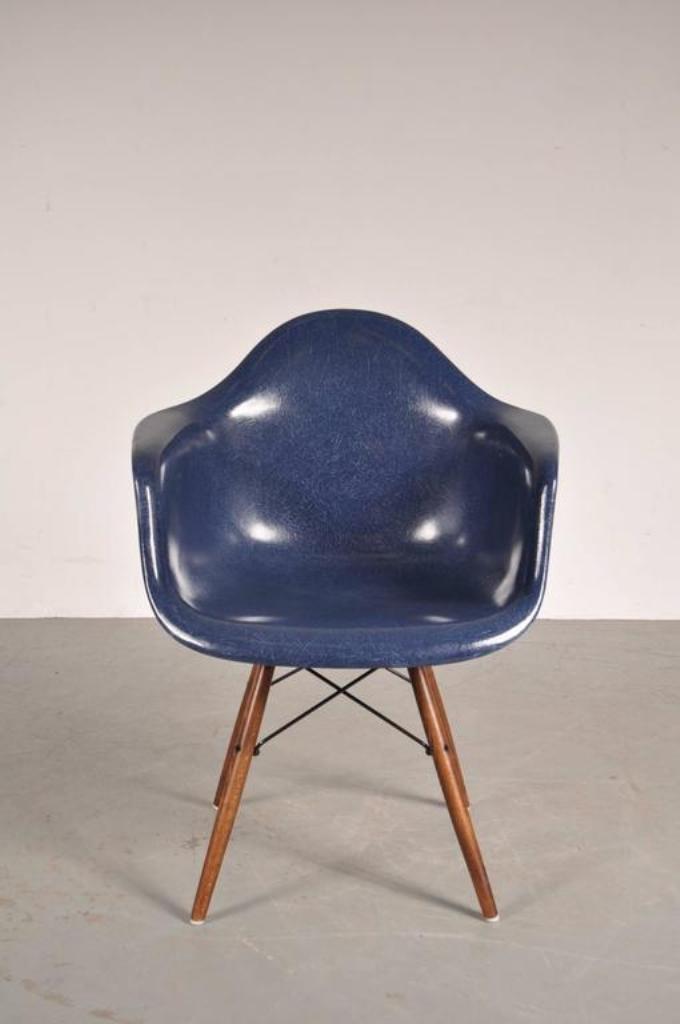 DAW Stuhl Von Charles U0026 Ray Eames Für Herman Miller, 1960er