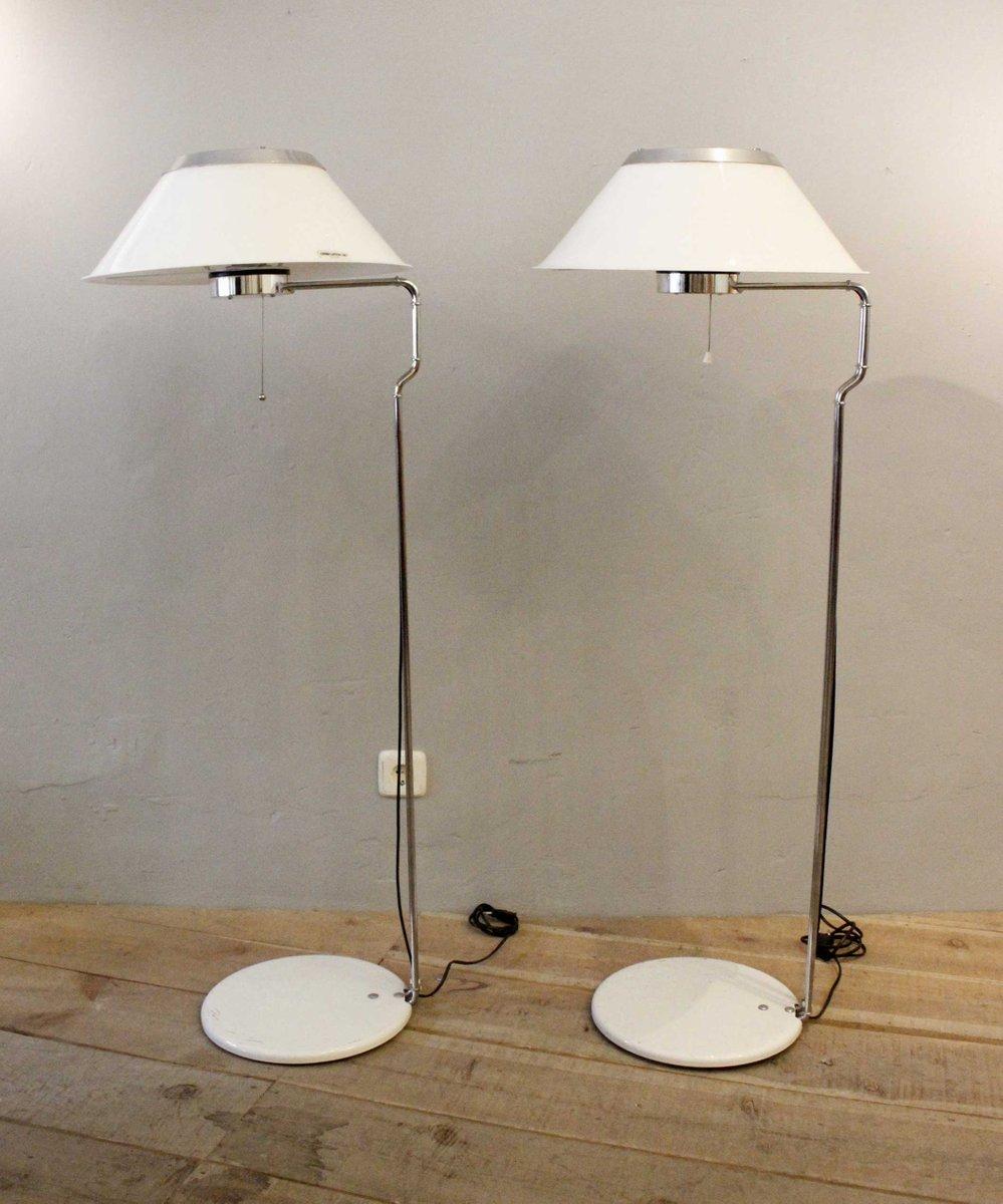 Vintage Mars Stehlampen von Ateljé Lyktan, 2er Set