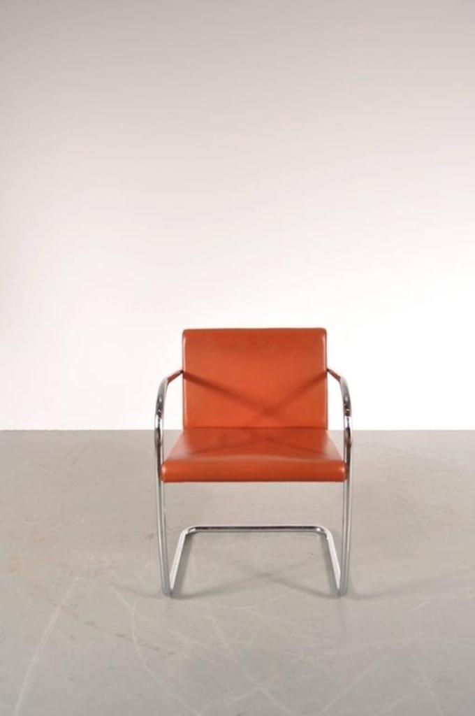 brno stuhl von mies van der rohe f r knoll international 1970er bei pamono kaufen. Black Bedroom Furniture Sets. Home Design Ideas