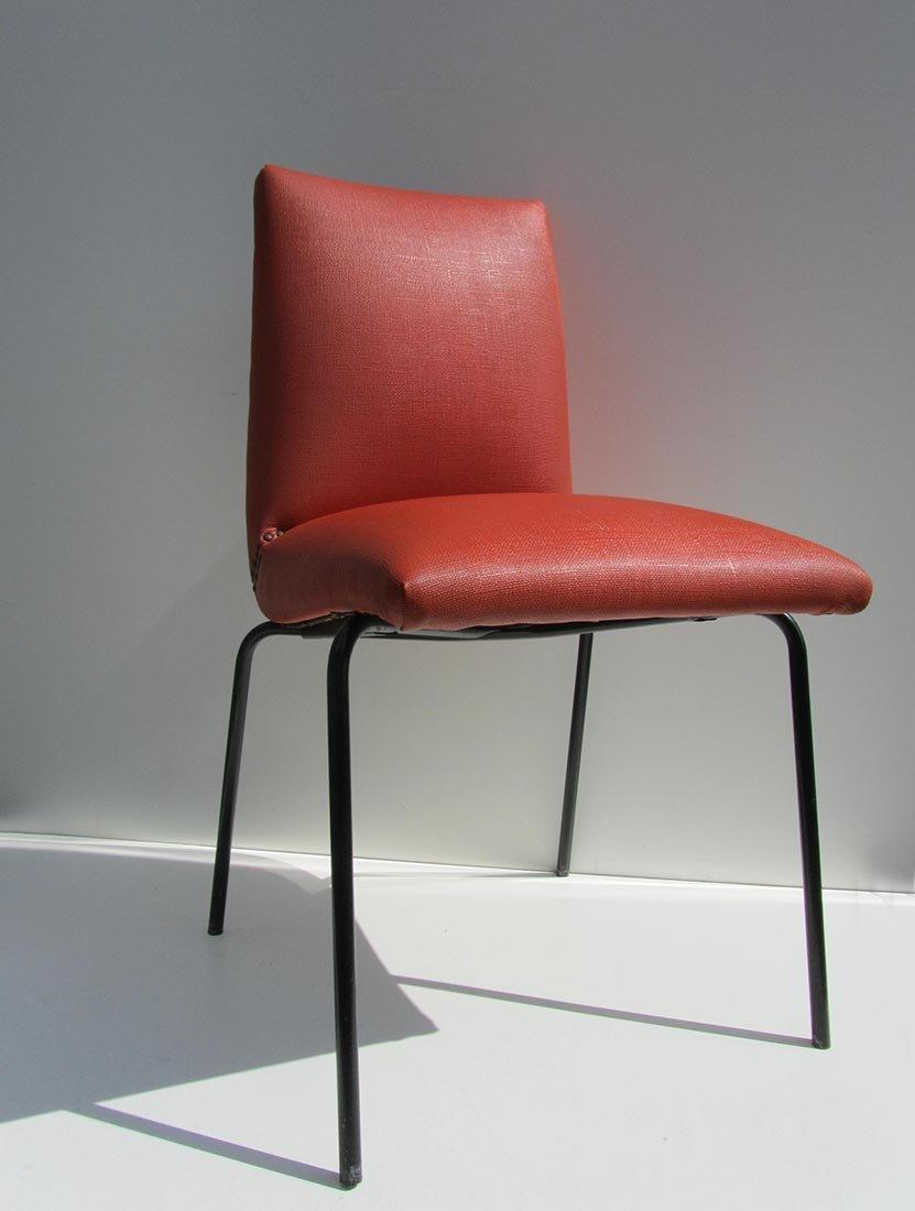 kunstleder st hle von pierre guariche f r meurop 1960er On kunstleder für stühle