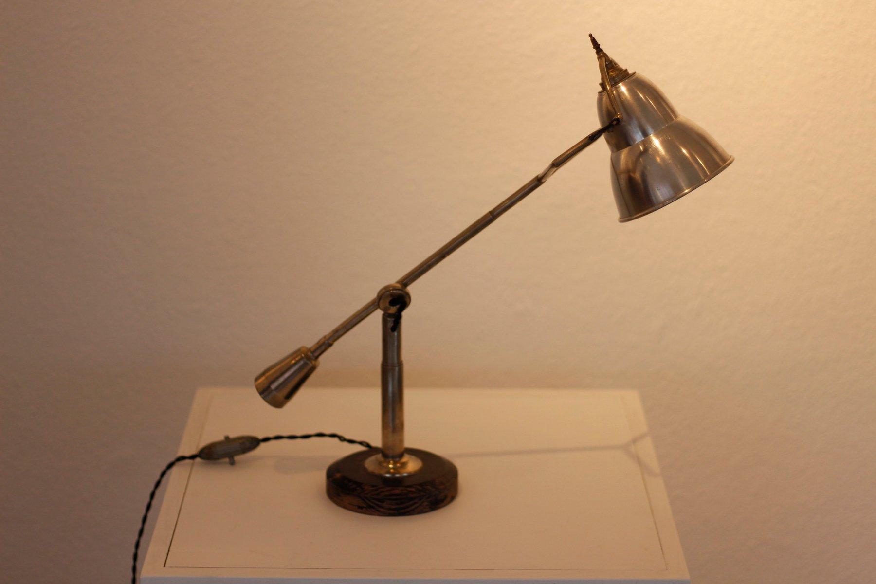 Vintage Equilibrium Tischlampe von Edouard-Wilfried Bouquet