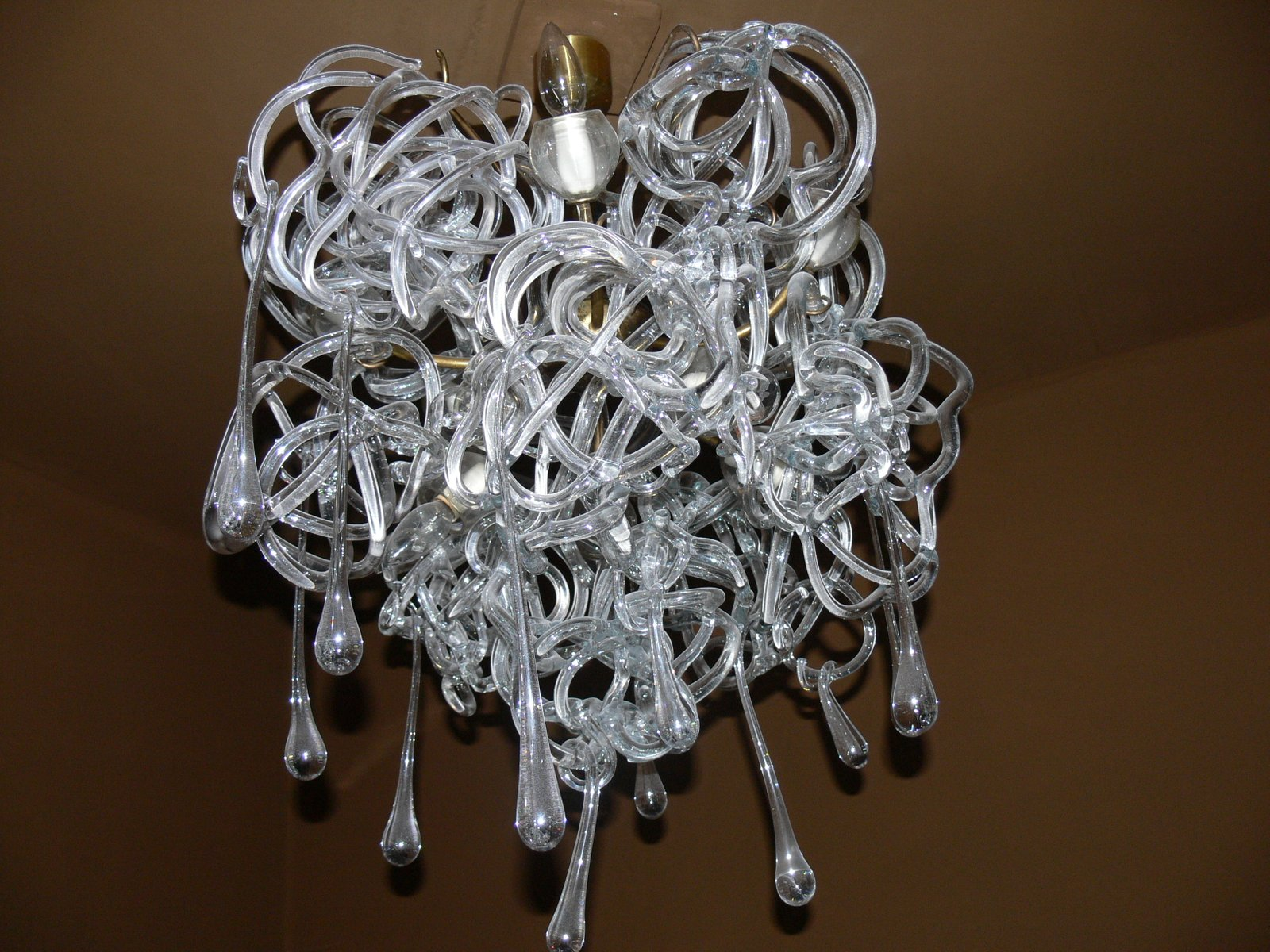 Vintage Wandlampen von René Roubí?ek für Kamenický Šenov, 2er Set