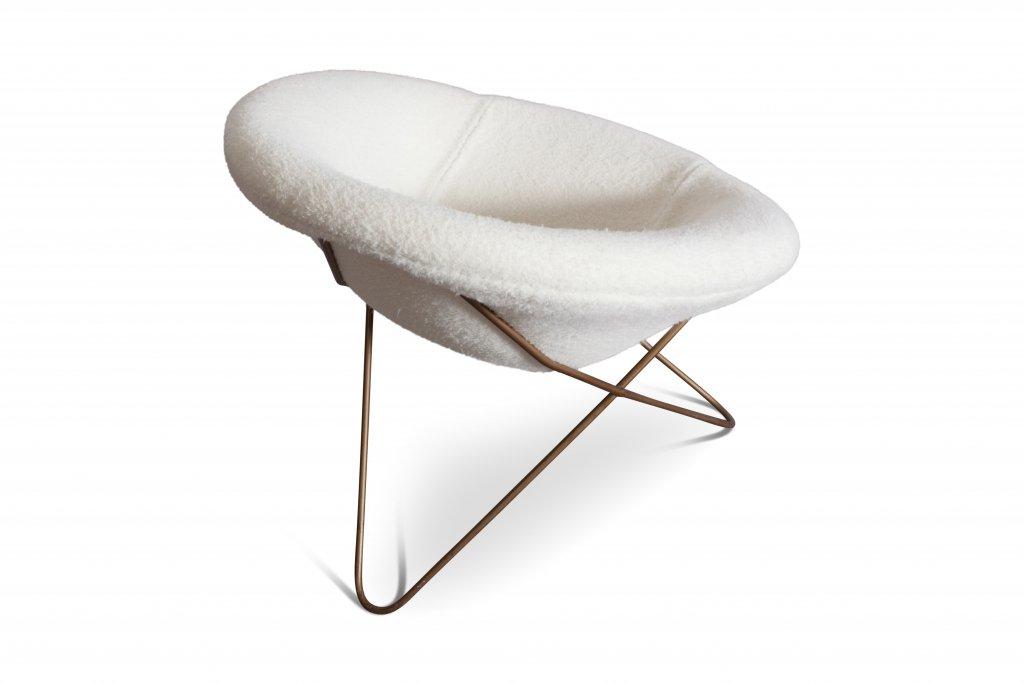 fauteuil par jean pierre roy re 1950s en vente sur pamono. Black Bedroom Furniture Sets. Home Design Ideas