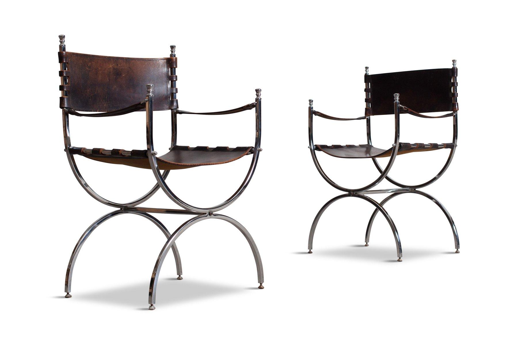 Savonarola emperor chairs by maison jansen 1970s set of 4 for sale at pamono - Savonarola sedia ...