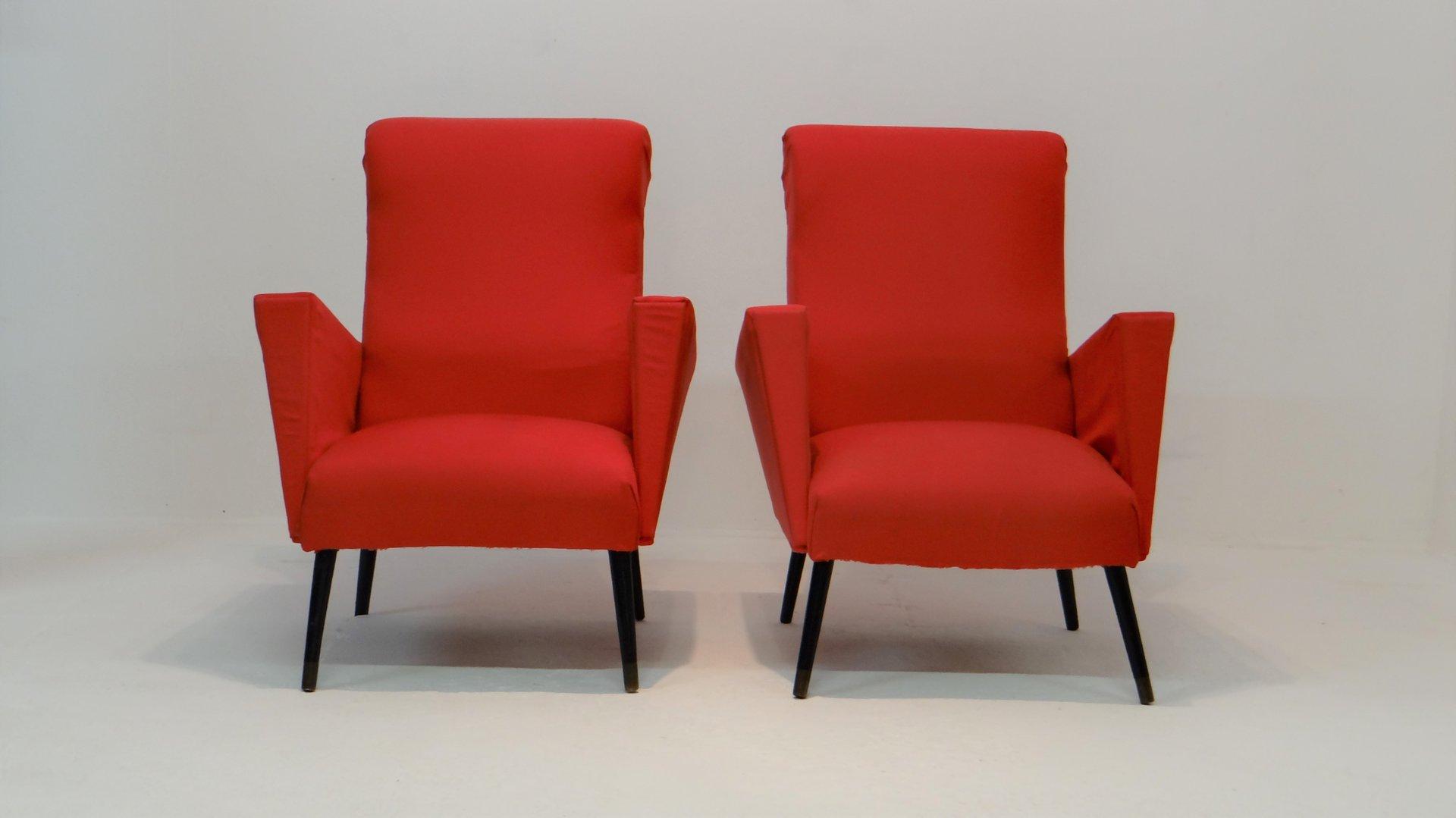 sessel 1950er 2er set bei pamono kaufen. Black Bedroom Furniture Sets. Home Design Ideas