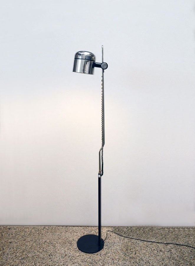 Floor lamp with adjustable chromed lampshade from philips 1970s for floor lamp with adjustable chromed lampshade from philips 1970s aloadofball Gallery