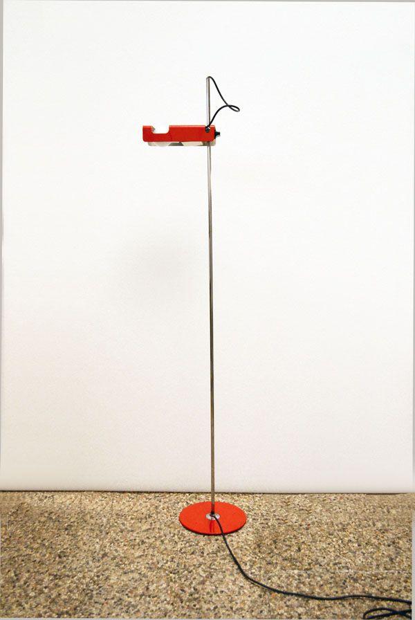 Spider Stehlampe von Joe Colombo für Oluce, 1960er