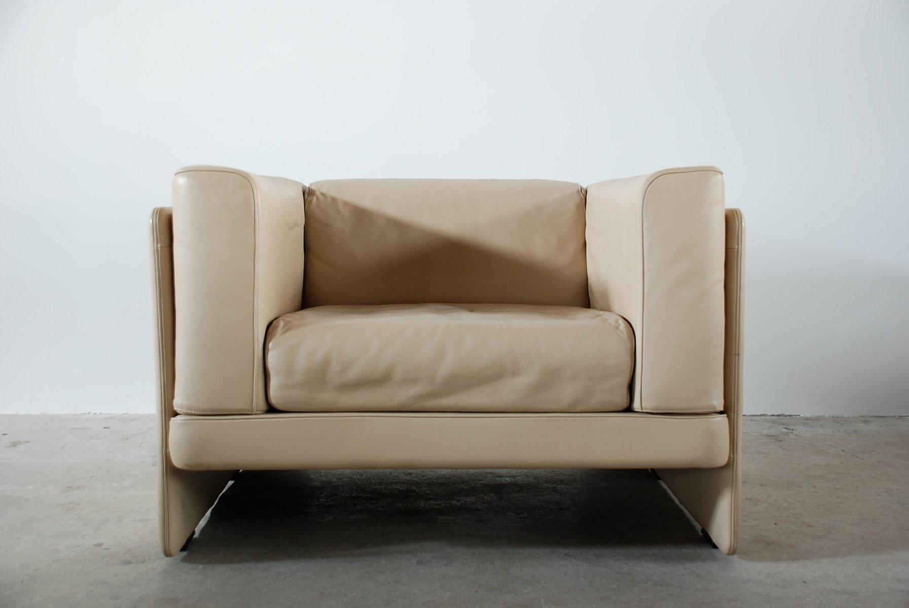 vintage le capannelle sessel von tito agnoli f r poltrona frau 2er set bei pamono kaufen. Black Bedroom Furniture Sets. Home Design Ideas