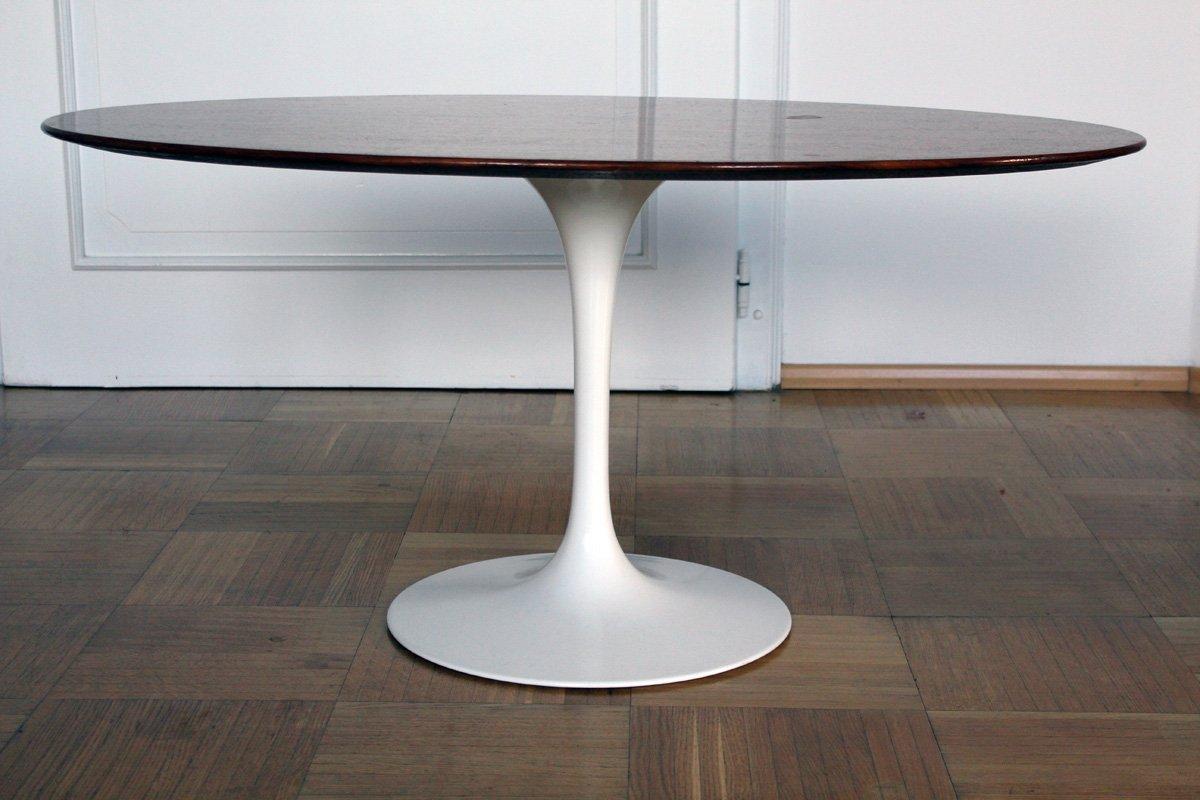 table basse tulipe par eero saarinen pour knoll 1957 en vente sur pamono. Black Bedroom Furniture Sets. Home Design Ideas