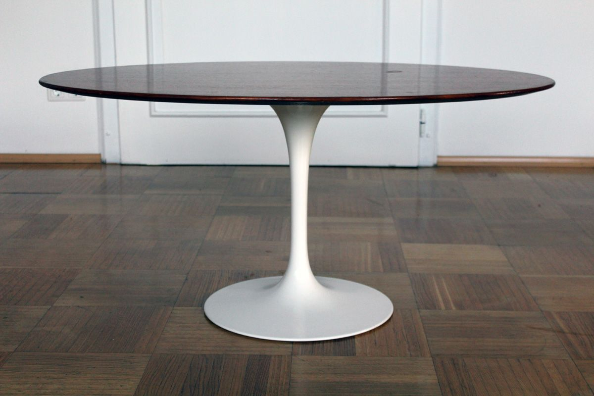 table basse tulipe par eero saarinen pour knoll 1957 en vente sur pamono. Black Bedroom Furniture Sets. Home Design Ideas
